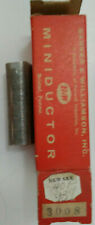 16 Uh Bampw Miniductor 3008 Vintage Air Core Inductor 2 58 Dia 32 Tpi 24 Awg