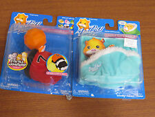 Zhu Zhu Pets Hamster Bed And Blanket Zhu Zhu Hamster Outfit Lot of Two NEW E