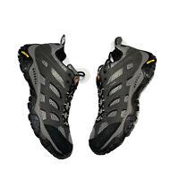 Merrell Moab Gore Tex Vibram Mens Size 8.5 Trail Hiking Shoes Black Gray J87577