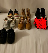 Lot of Timberland boots, Jordan's, and others all Size 5c