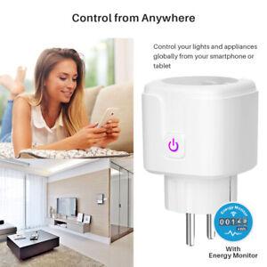 EU Plug Timing Function WiFi Socket Smart Plug Smart Power Socket Power Monitor