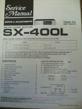 Pioneer SX-400L  Stereo Receiver  Service Manual