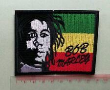 Bob Marley Reggae Ska Music Emblem Sew Iron-On Embroidered Applique Patch Badge