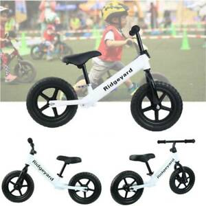 """12"""" Inch Kids Balance Bike Children Balance Training Bicycle Cycle For Toddlers"""