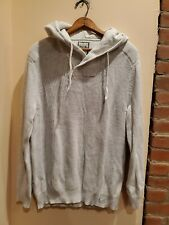 Express Mens Hooded Sweater XL Punk Grey