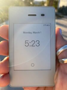 Light Phone 2 Gray - Used only a few times - Perfect Condition! calming phone :)