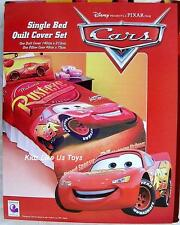 ~ Disney Cars - McQUEEN QUILT DOONA COVER SET Double