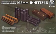 AFV Club 1/35 AF35184 Ammunition Crates & Containers for WWII US 105mm Howitzer