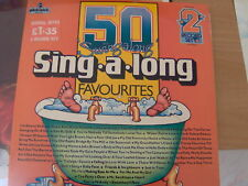 2 LP 5O SWING ALONG SING A LONG FAV.BRUCE BAXTER N/MINT