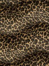 Animal Print faux Fur/Velour Velboa Fabric - Baby leopard - FREE P&P