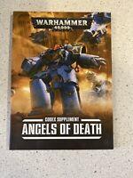 Warhammer 40,000 Codex Supplement ANGELS OF DEATH (2016, Softcover)