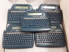AlphaSmart 2000 Personal Portable Word Processor Keyboard  lot of 5