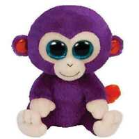 GRAPES THE MONKEY TY BEANIE BOOS  BRAND NEW