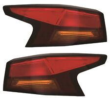 FIT NISSAN ALTIMA 2019 LEFT RIGHT OUTER TAIL LIGHTS REAR LAMPS TAILLIGHTS PAIR