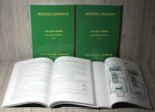 John Deere Lanz Werkstatthandbuch Traktor 300 und 500