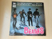 THE BEATLES, EP, HERE, THERE AND EVERYWHERE + 3, SPANISH EDIT.1966