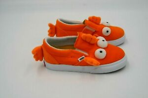 Simpsons X Vans Blinky Fish Slip On Toddler Shoes 8.5T New