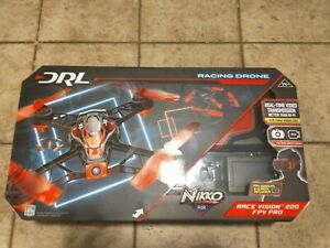 DRL NIKKO AIR RACE VISION 220 FPV PRO RACING DRONE--NEW--UNOPENED