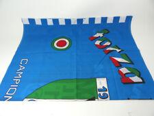 BANDIERA CALCIO VINTAGE - 1987 - 1° SCUDETTO NAPOLI CAMPIONE D'ITALIA - MARADONA