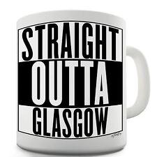 Twisted Envy Straight Outta Glasgow Ceramic Funny Mug
