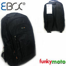 "BLACK RUCKSACK BACKPACK TRAVEL 15.6"" LAPTOP COMPUTER BAG WATERPROOF LUGGAGE FL3"