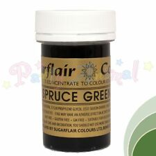 Sugarflair Concentrated Food Colouring Paste Gel Colours Spectral Tartranil 25g