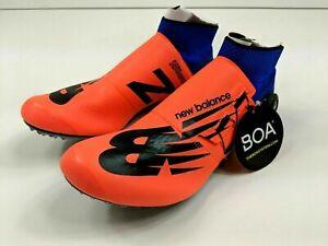 New Balance Mens Orange & Blue Track & Field Spiked Shoes USDSGMHO Sz 11.5