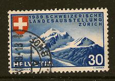 SWITZERLAND :1939 National Exhibition 30c (German)  SG 393G fine used