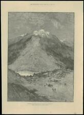 1887-Svizzera Canton Uri Swiss Alps schachenthal earthslip (189)
