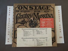 """LOGGINS AND MESSINA ON STAGE 1ST PRESS PROMO DBL LP """"YOUR MAMA DON'T DANCE"""""""
