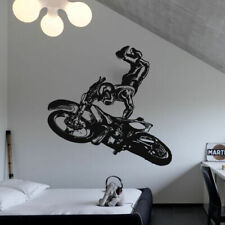 Wall Decal Sticker Vinyl Motocross Tribal Dirt Moto Motorcycle Jump Bike M835