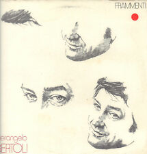 "PIERANGELO BERTOLI "" FRAMMENTI "" LP SIGILLATO CGD 1983 ITALY (CGD 20349)"