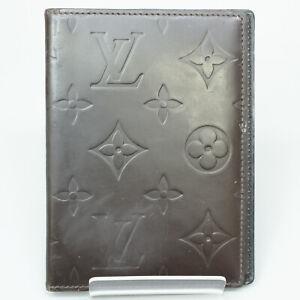 LOUIS VUITTON ETUI PALM PDA Cover Case Monogram Glace Leather M66520 Cafe