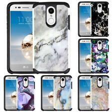 For LG K8 (2018) / K8 PLUS (2018) LG Zone 4 LG Risio 3 Marble Design Phone Case