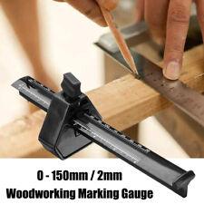 0 - 6'' Plastic Mortice Marking Gauge Adjusting Screw Measuring Woodworking Tool