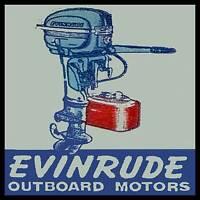 Evinrude Outboard Motor FRIDGE MAGNET