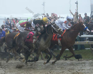 JUSTIFY BRAVAZO TENFOLD GOOD MAGIC 2018 PREAKNESS STAKES 8X10 PHOTO PICTURE