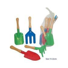 NEW Children's Gardening Tool Set with Fork, Spade, Shovel & Rake - Set 4