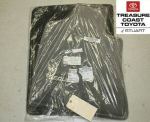 NEW OEM TOYOTA SEQUOIA GRAY FLOOR MATS AND CLIPS 2005-2007
