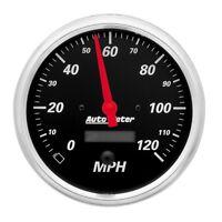 "Auto Meter 1489 5"" Speedometer Gauge 0-120 Mph Electric Designer Black"