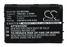 700mAh UPGRADE Batteries For Siemens C25, C25 Power, C2588, C25e, C28 Mobile