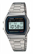 Casio A168W-1 Illuminator Men's Watch - Silver