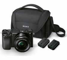 SONY a6000 Mirrorless Camera with 16-50 mm f/3.5-5.6 Lens & Accessories - Currys
