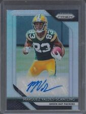 MARQUEZ VALDES-SCANTLING 2018 PANINI PRIZM SILVER PRIZMS PACKERS ROOKIE AUTO RC