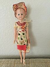 """Vintage Plastic 10"""" Mother Type Doll w/Original Clothing"""
