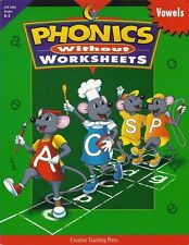 Phonics Without Worksheets: Vowels (K-2)