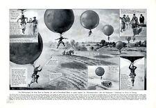 Ballon springen XL Seite von 1927 Grineau Sport Fesselballon Siebenmeilenstiefel