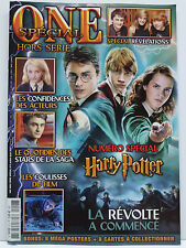 Harry Potter ONE Magazine SPECIAL Hors-Serie #6 w/ 8 Mega Posters & much more