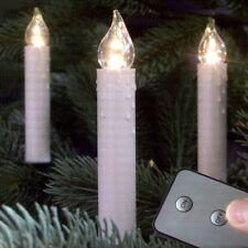 LED Weihnachtsbaumbeleuchtung Kabellos 10er warmweiß innen 08789 xmas