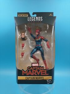 neuf figurine jouet marvel legends series hasbro captain marvel
